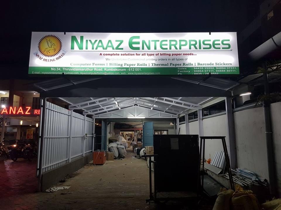 Company Infrastructure - Niyaaz Enterprises from Kumbakonam