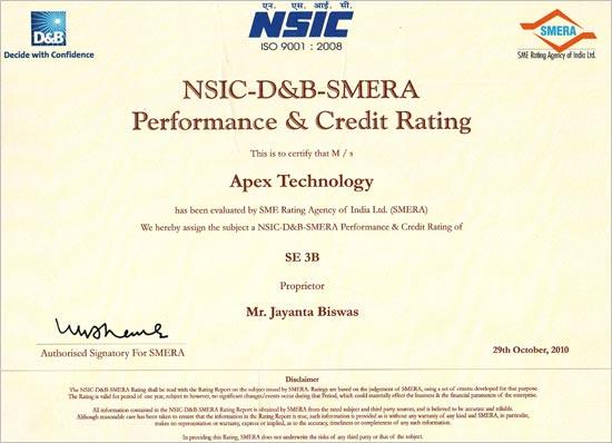 NSIC Certificate 02