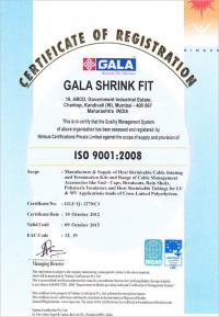ISO-9001:2008 Certificate