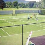 Synthetic Tennis Court Maintenance