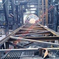 Dryer Erection Using Rail
