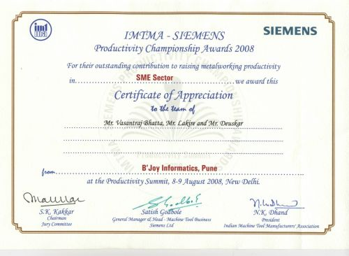 IMTMA Siemens