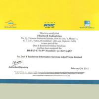 DNB Certificate