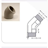 PP Socket Fusion Pipe Fittings
