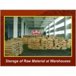 Storage of Raw Material at Warehouse