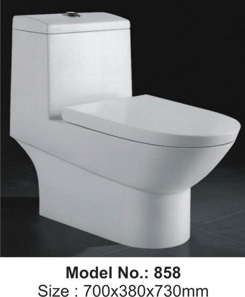 Ceramic Sanitary Ware Squatting Pan Toilet Wall Hung