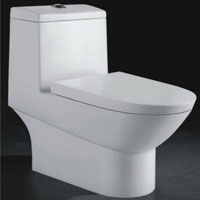 Single Piece Toilets