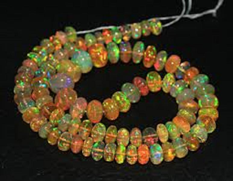 ethiopian welo fire opal beadsethiopian welo fire opal