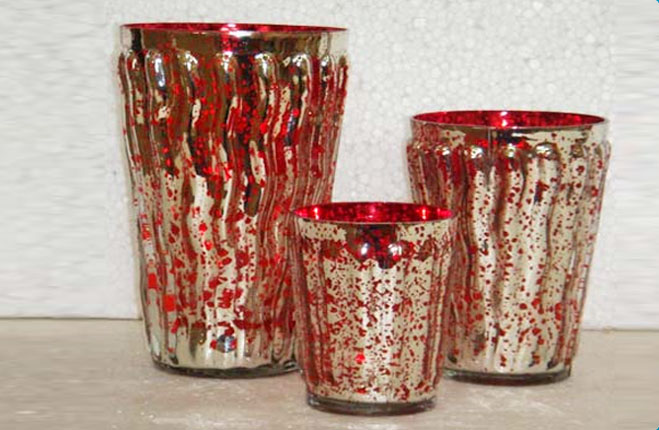 Home Decorative ItemsWholesale Glass CanisterGlass Flower Vases