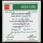 Green Card From Onida
