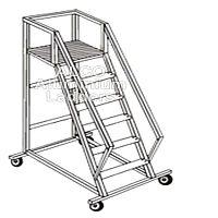 Aluminium Platform Step Ladders