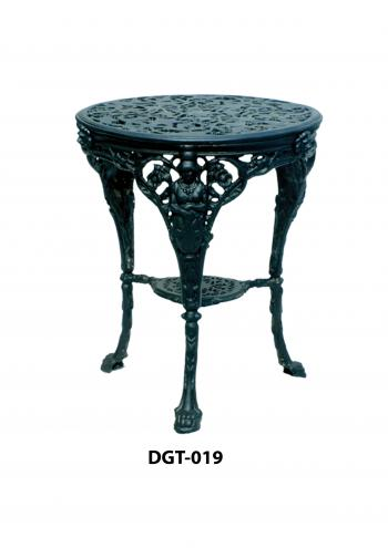 Cast Iron Round Tables