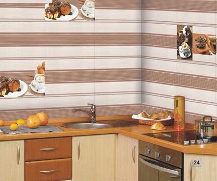 250x375mm Kitchen Series Digital Wall Tiles Exporters