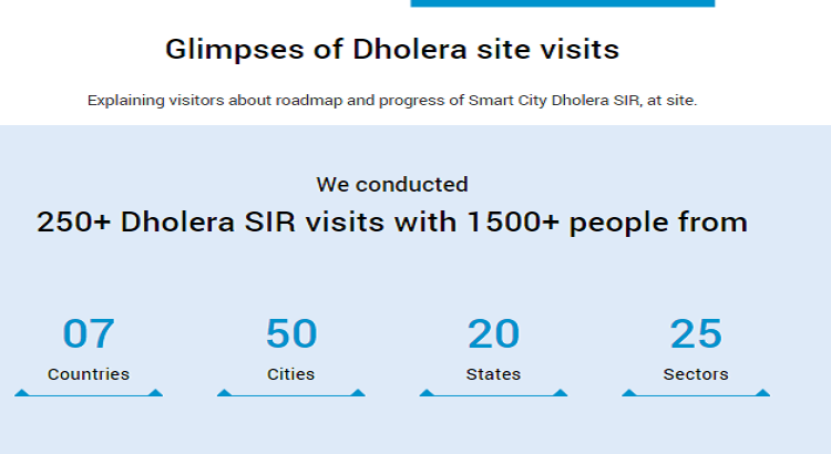 Dholera Visitors