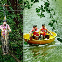 Eco Tourism in Thenmala