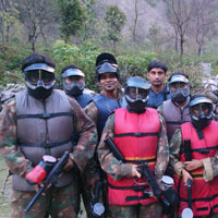 Corporate Paintball Adventure Game