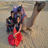 Pre Wedding Photoshoot in Desert