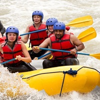 Camping and Rafting Tour