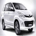 Car Type: New Toyota Avanza - 7 Seater / Family