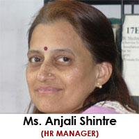 Mrs. Anjali Shintre   Sr. Hr Manager