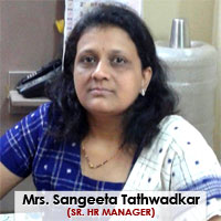 Mrs. Sangeeta Tathwadkar, Sr. Hr Manager
