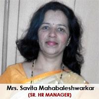 Mrs. Savita Mahabaleshwarkar,  Sr. Hr Manager
