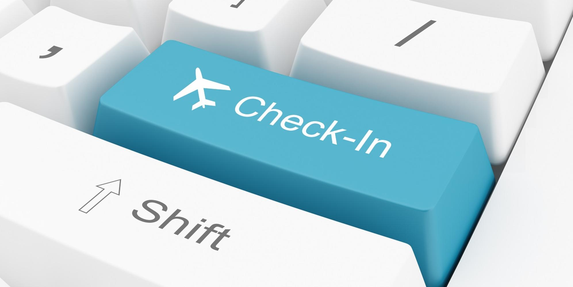 E-CHECK-IN BEFORE FLIGHT TRAVEL