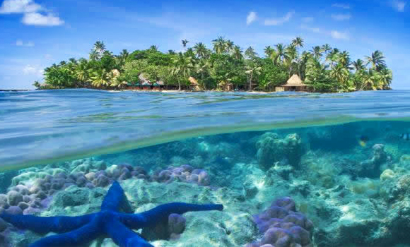 LAKSHADWEEP BLUE