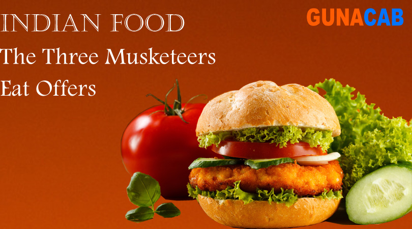 The Tree Musketeers Eats Offer: 40% Discount for Guna Cabs Customers