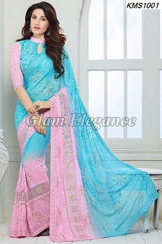 Chiffon Sarees – Gives You A Look Of A Graceful Lady