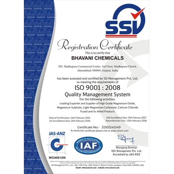 ISO 2008 Certification