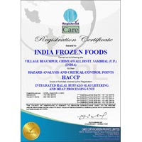 India Frozen Foods - Care Haccp _ Revised