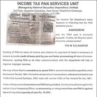 Certificate of Income Tax