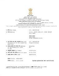 Import Export Certificate