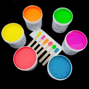 Neon Silicone Ink Colors