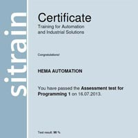 Step Certificate