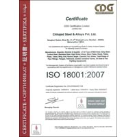 ISO-18001 : 2007