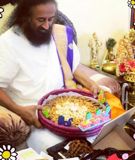 Shri Shri Ravi Shankar of Dryfruits