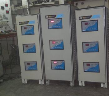 40 KVA Three Phase Servo Voltage Stabilizer