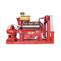 Multi Stage Fire Fighting Pump