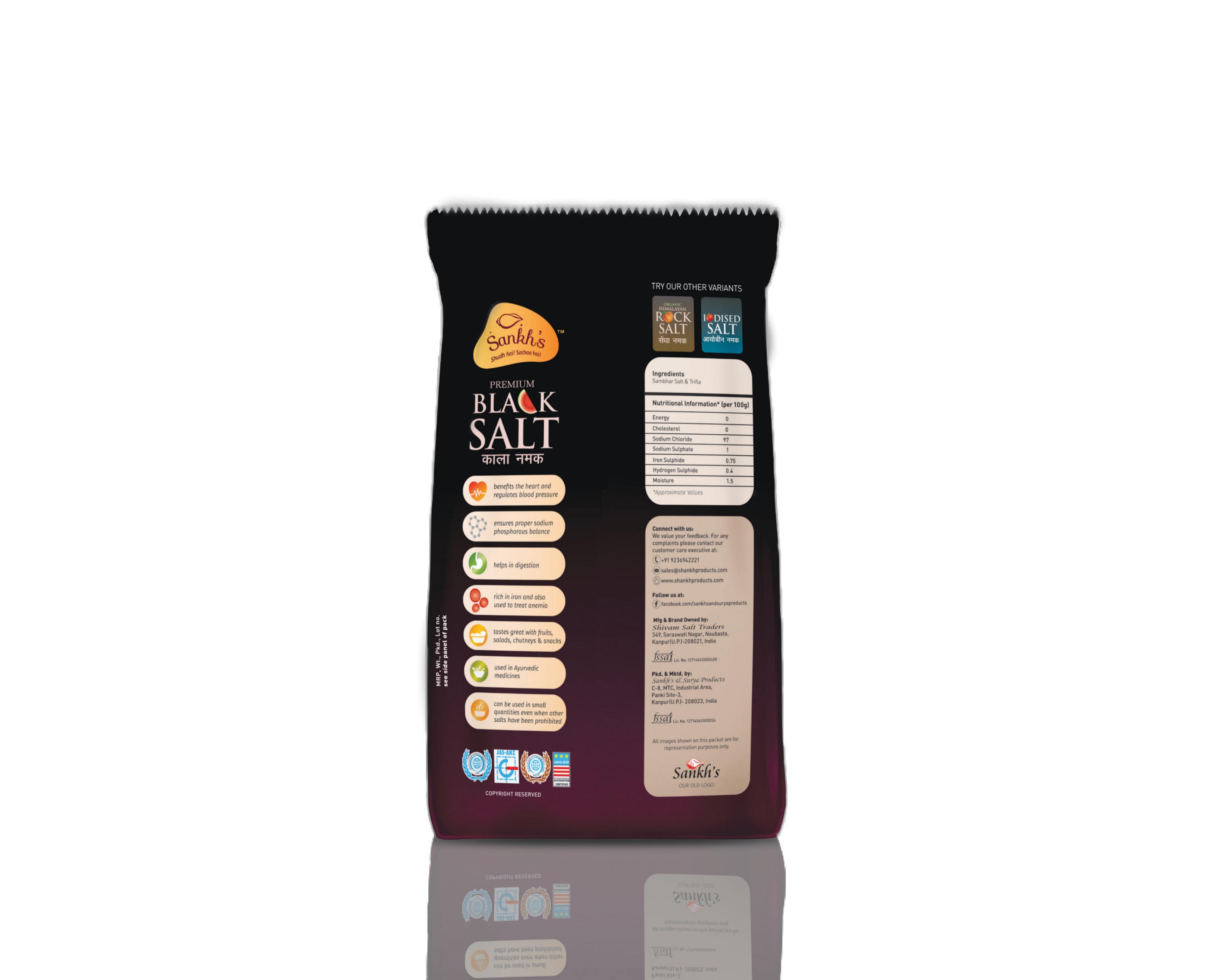 Premium Sankh Black Salt-B