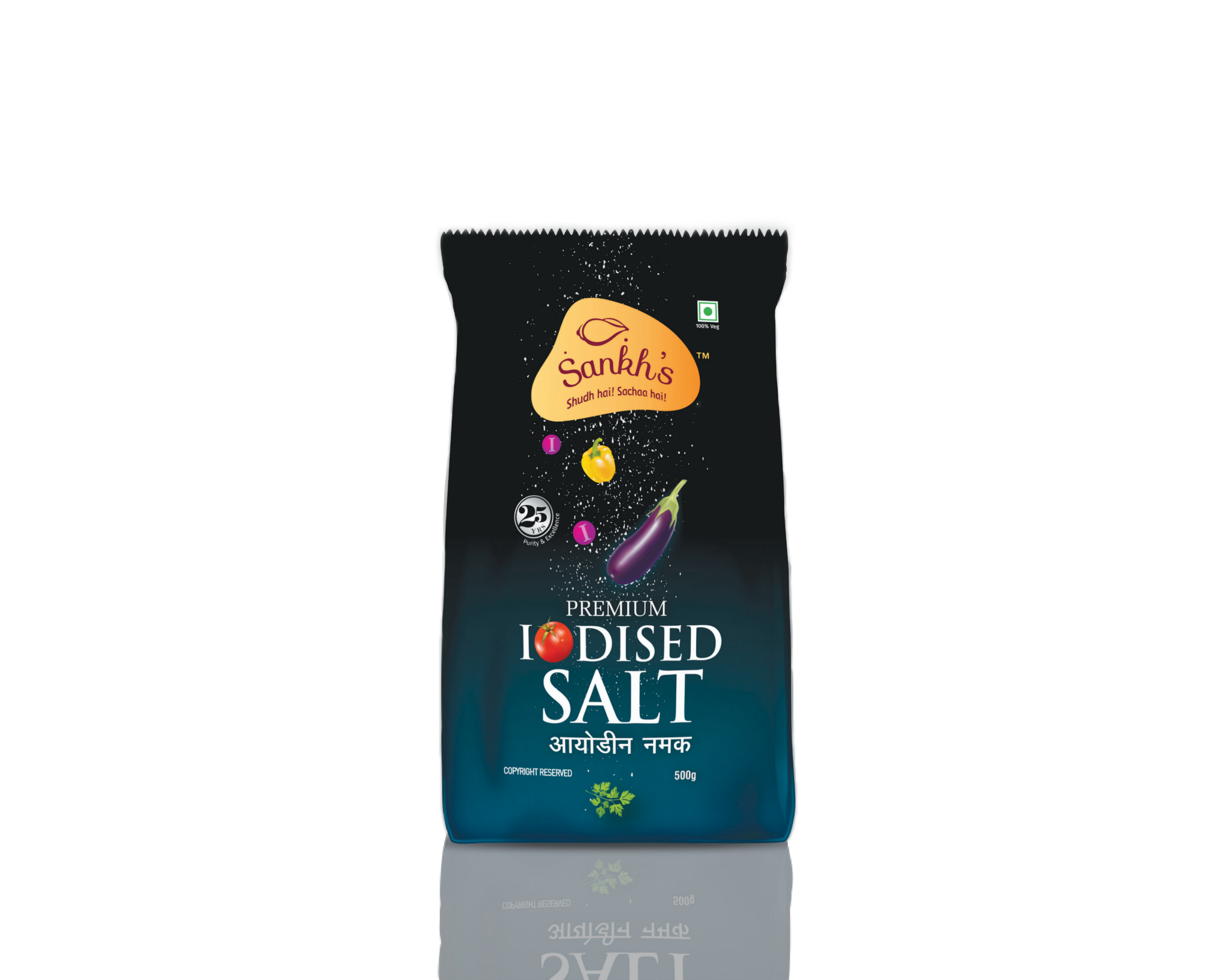 Premium Sankh Iodized Salt-F
