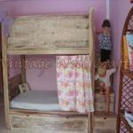 Bunk Bed and Wardrobe