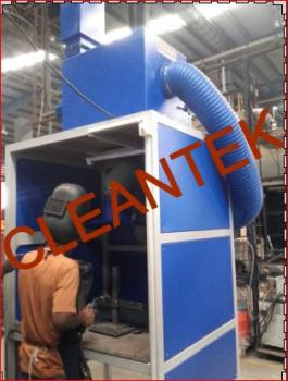 Booth fume Extractor