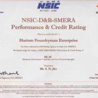 N.S. I.C. Certificate