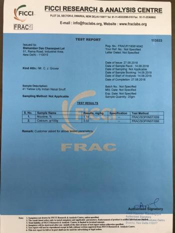 FICCI Certification
