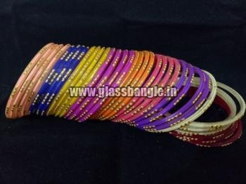 Designer Glass Bangles