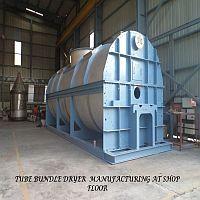 Tube Bundle Dryer Manufacturing at Shop Floor