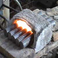 Induction Heating Machine for Bolt Head Forging