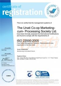 ISO 2200:2005 CERTIFICATE